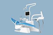 Dental Chair - Clipping path