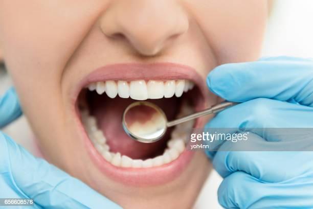 Dental exam and hygiene
