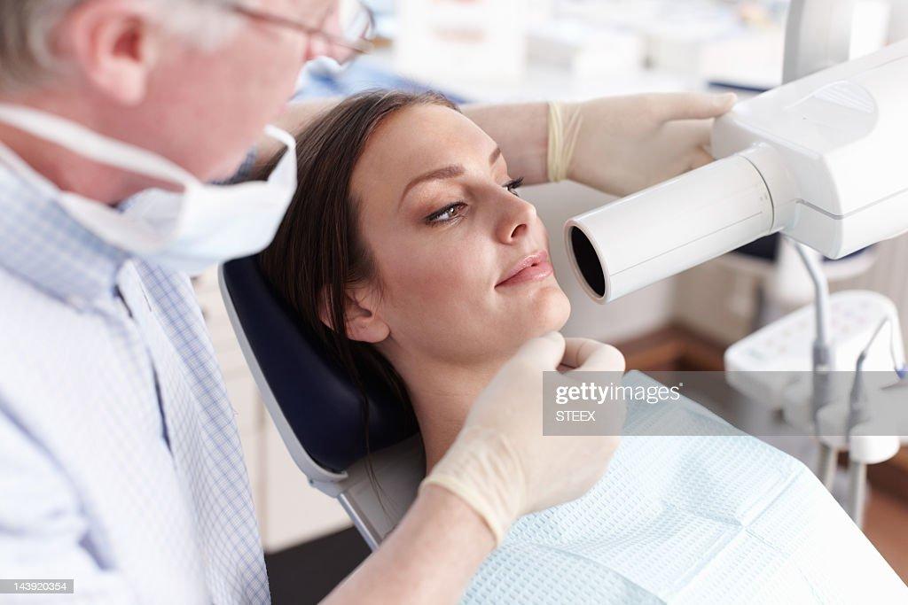 Dental examination : Stock Photo