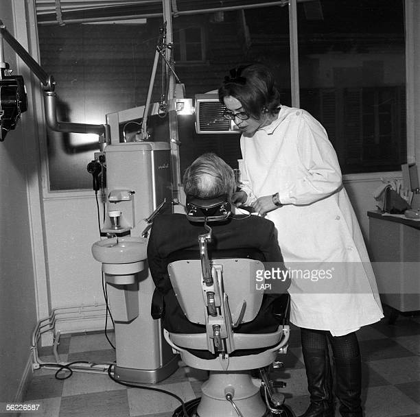 Denver Shooting At Dental Office: 1960s Dentist Office Stock Photos And Pictures