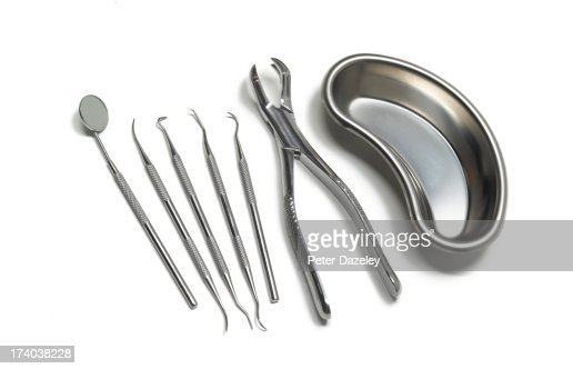 Dental tools with tooth extractor