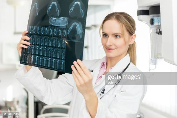 Dental x-ray image looks OK !