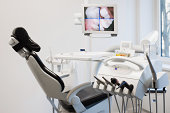 Dentists chair and equipment