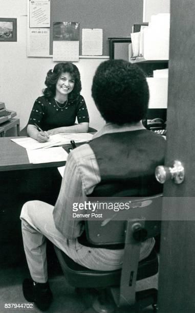 Denver Area Center Fro Employment Training Josephine Sanchez Interviews A new Student Credit The Denver Post