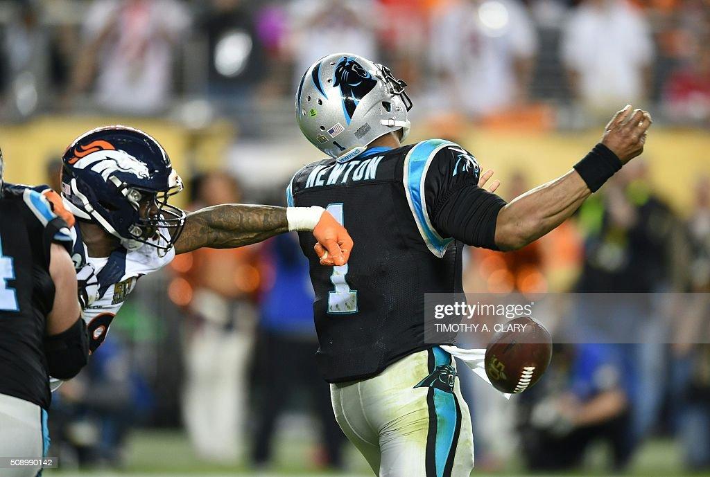 Super Bowl 50 Carolina Panthers V Denver Broncos Getty