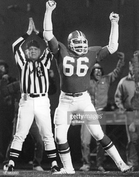 NOV 20 1983 NOV 21 1983 Denver Broncos Action