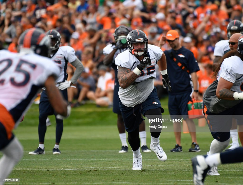 Denver Broncos training camp day three