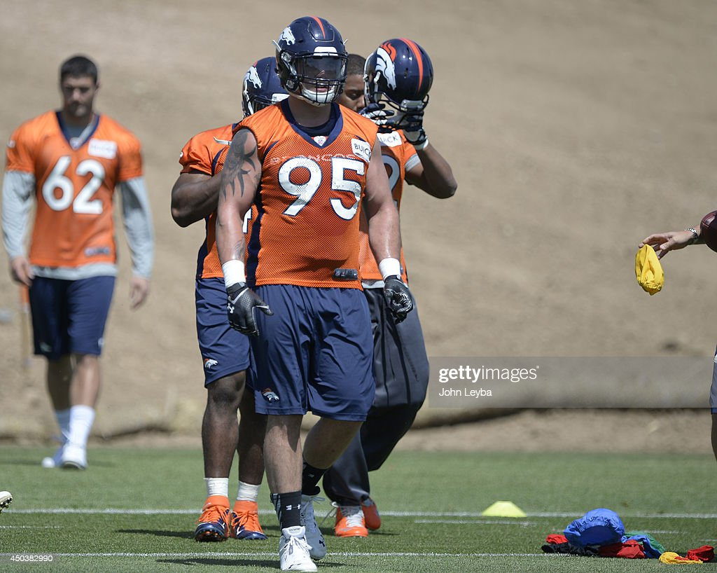 Denver Broncos OTA at Dove Valley