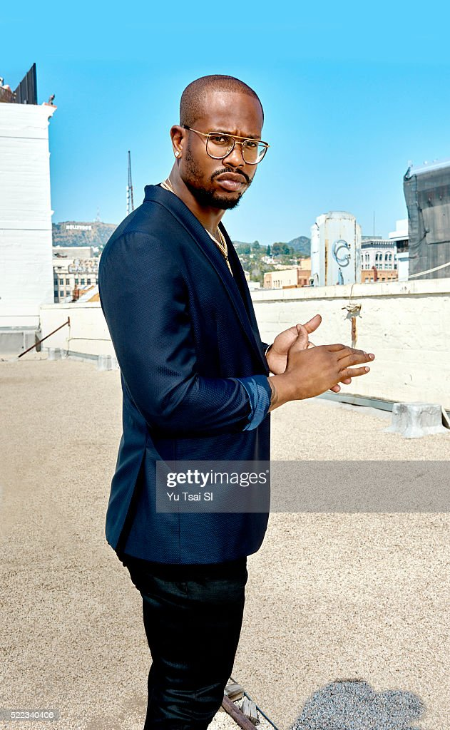 Denver Broncos linebacker <a gi-track='captionPersonalityLinkClicked' href=/galleries/search?phrase=Von+Miller&family=editorial&specificpeople=7125735 ng-click='$event.stopPropagation()'>Von Miller</a> is photographed for Sports Illustrated on April 5, 2016 in Los Angeles, California. COVER IMAGE. (Set Number: SI314 TK1 )