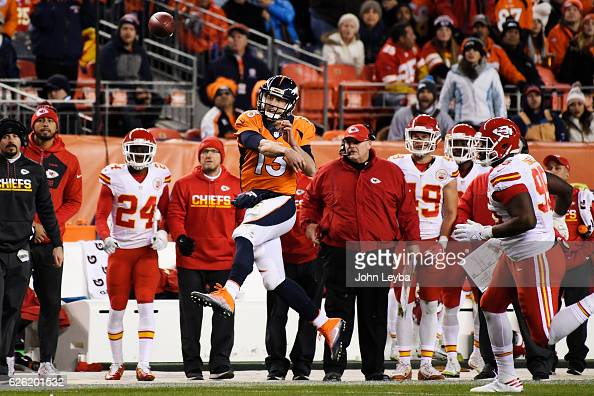 Denver Broncos vs. Kansas City Chiefs, NFL Week 12 : News Photo