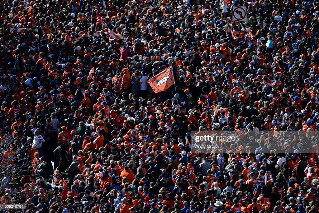 Denver Broncos Super Bowl 50 celebration parade February 07, 2016.