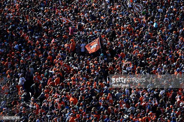 Denver Broncos Super Bowl 50 celebration parade February 07 2016