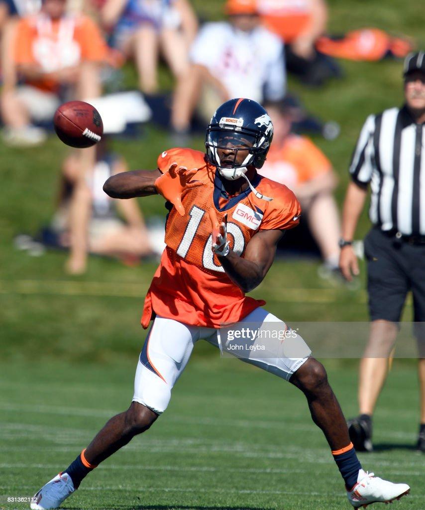 Denver Broncos practice