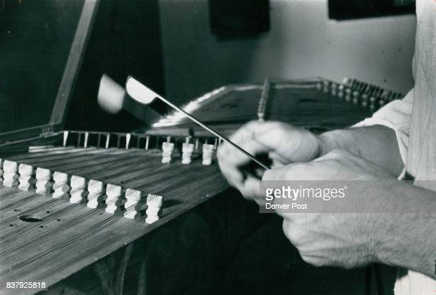 Denver Colorado Art Museum Norman Hughes Hammered Dulcimer Credit Denver Post