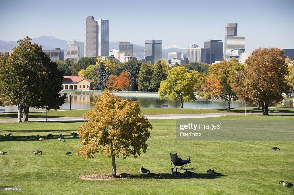 Denver during fall season
