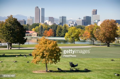 Denver during fall season
