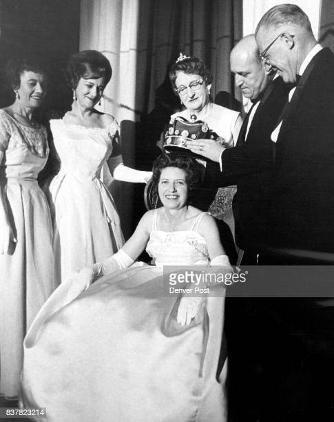 Denver Elks Lodge Names Queen Mrs Frances White seated 1810 S Gilpin St was elected queen of the annual charity ball of Denver Elks Lodge 17 Saturday...