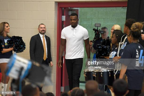 Denver Nuggets officially announced the signing of Paul Millsap on July 13 2017 at a press conference at the Montbello Rec Center Millsap enters the...