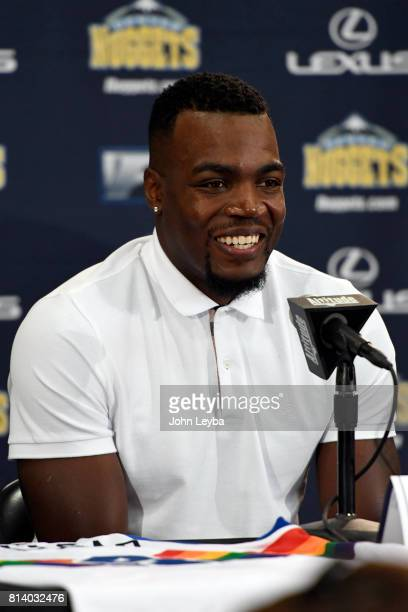 Denver Nuggets officially announced the signing of Paul Millsap on July 13 2017 at a press conference at the Montbello Rec Center Millsap answers...