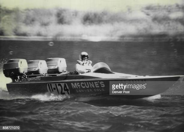 Denver Outboard Driver Is StandardBearer For Women's Lib In Boat Racing Melissa McCune wants to be judged on basis of individual skill rather than...