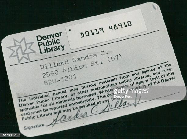 Library Card Stock Photos And Pictures  Getty Images