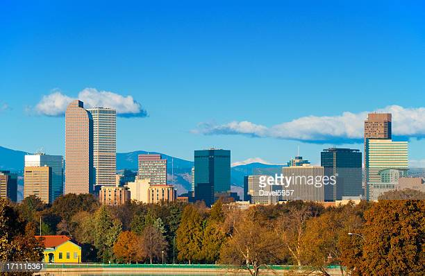 Denver skyline from city park
