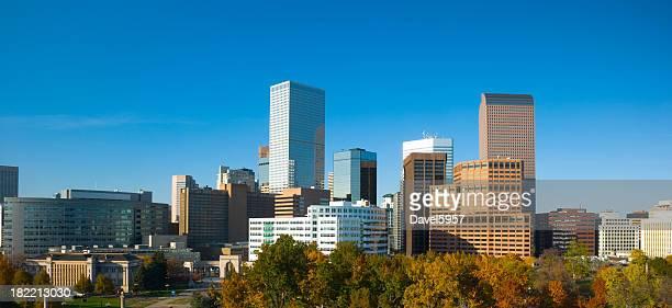 Denver skyline panorama