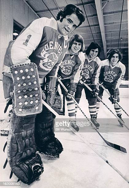 MAR 12 1973 MAR 13 1973 Denver University * Ice Hockey These four Denver stars who led Pioneers to the WCHA playoff title head up The Post's allstar...