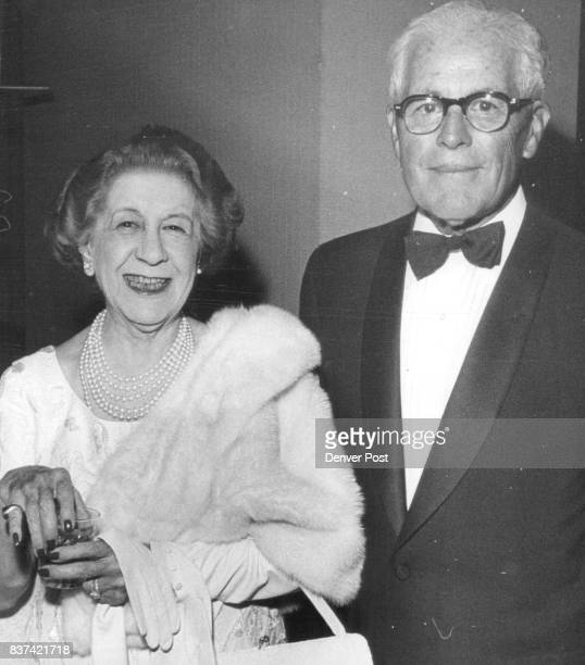 Denverites Turn out to Hear Senator Goldwater Mr and Mrs Clarence Daly were in crowd at Mile High Club speech by Arizona senator Credit Denver Post