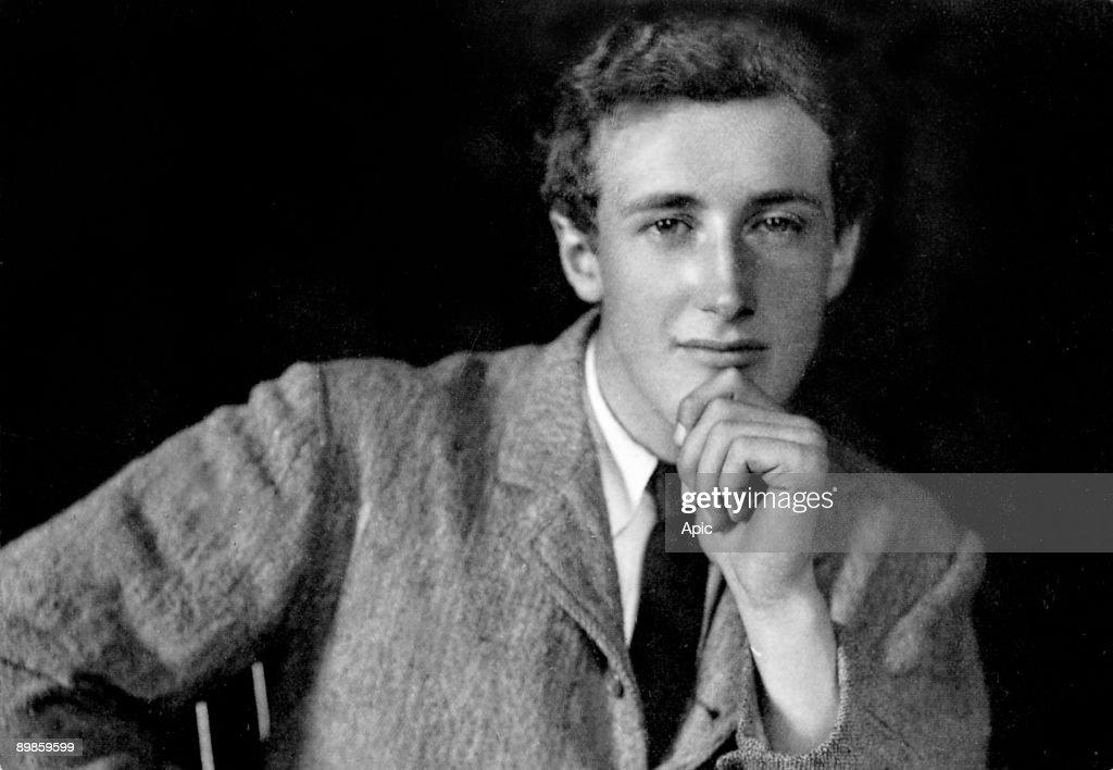 Denys Finch-Hatton (1887-1931) he was Karen Blixen's lovers, here in 1908