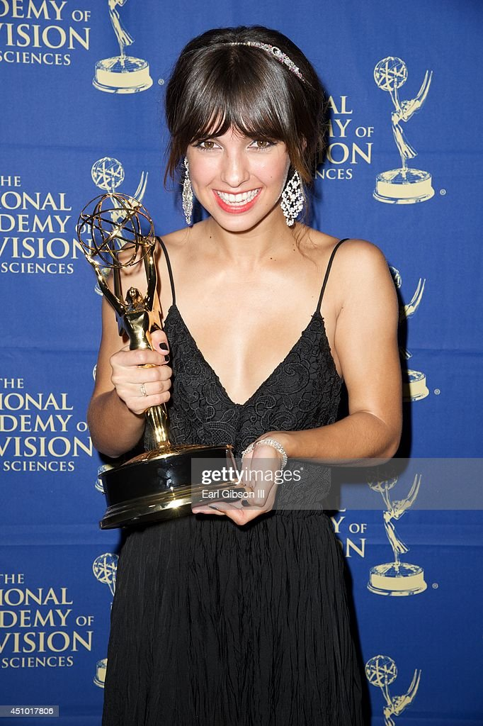 Denyse Tontz attends the Daytime Creative Arts Emmy Awards at the Westin Bonaventure Hotel on June 20, 2014 in Los Angeles, California.