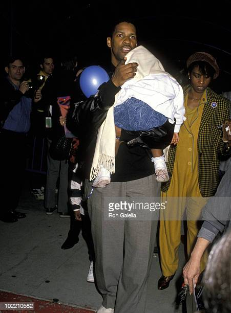 Denzel Washington and daughter