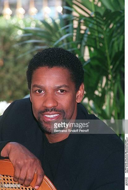 Denzel Washington at theParis Film Promotion Of Fallen