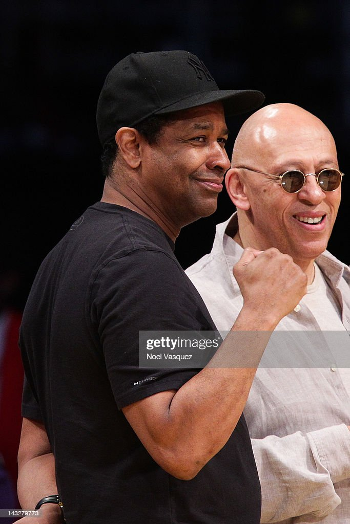<a gi-track='captionPersonalityLinkClicked' href=/galleries/search?phrase=Denzel+Washington&family=editorial&specificpeople=171332 ng-click='$event.stopPropagation()'>Denzel Washington</a> attends a basketball game between the Oklahoma City Thunder and the Los Angeles Lakers at Staples Center on April 22, 2012 in Los Angeles, California.