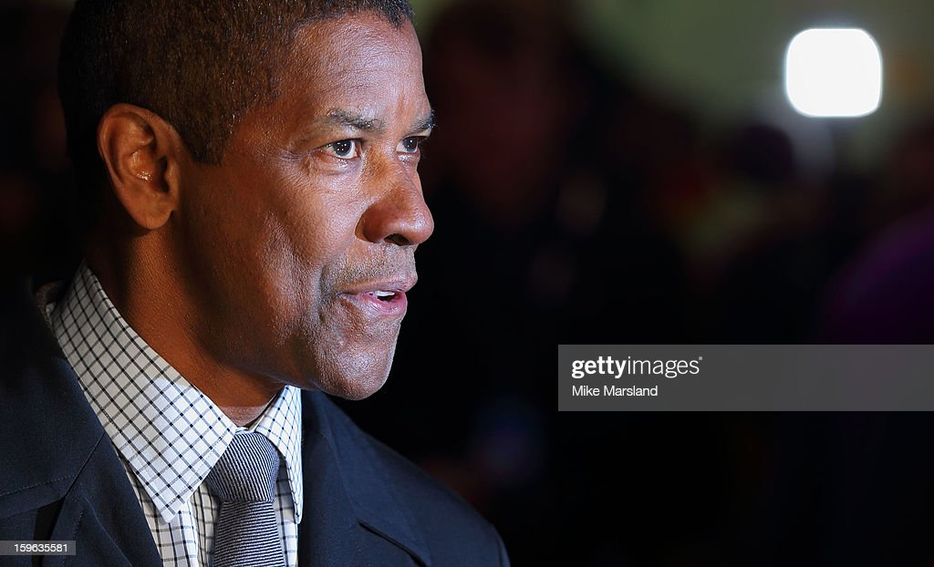 <a gi-track='captionPersonalityLinkClicked' href=/galleries/search?phrase=Denzel+Washington&family=editorial&specificpeople=171332 ng-click='$event.stopPropagation()'>Denzel Washington</a> attends the UK Premiere of 'Flight' at The Empire Cinema on January 17, 2013 in London, England.