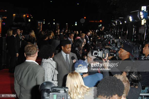 Denzel Washington attends UNSTOPPABLE World Premiere at Regency Village Theatre on October 26 2010 in Westwood California