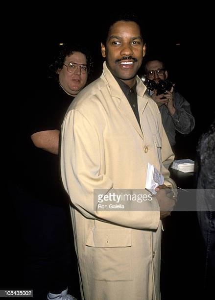 Denzel Washington during Richard Pryor Live in Concert January 30 1993 at Wilshire Theater in Beverly Hills California United States