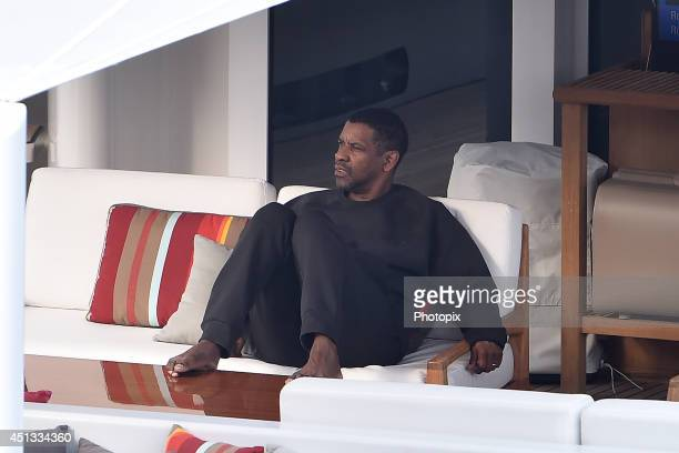 Denzel Washington is seen on June 27 2014 in Portofino Italy