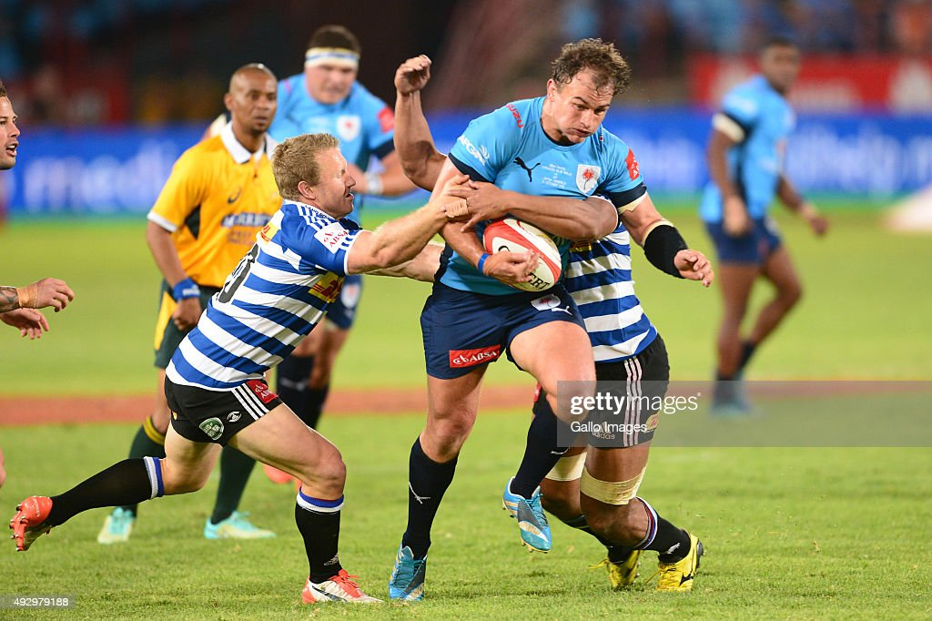 Deon Stegmann of the Bulls during the Absa Currie Cup semi final match between Vodacom Blue Bulls and DHL Western Province at Loftus Versfeld on...