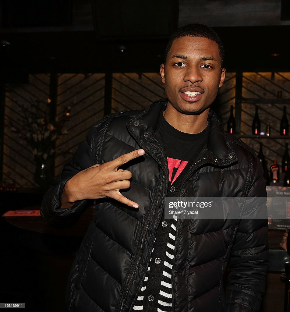 Deon Young attend the Remy Martin V.S.O.P Ringleader Culmination Event with Robin Thicke at Marquee on March 4, 2013 in New York City.