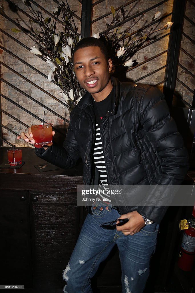 Deon Young attends the Remy Martin V.S.O.P Ringleader Culmination Event with Robin Thicke at Marquee on March 4, 2013 in New York City.
