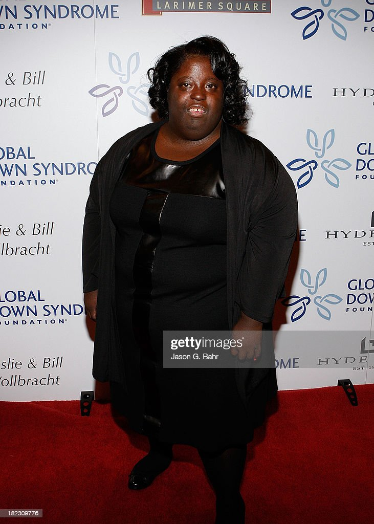 DeOndra Dixon (Jamie Foxx's sister) attends the Global Down Syndrome Foundation's Be Yourself Be Beautiful Fashion Show at Sheraton Downtown Denver Hotel on September 28, 2013 in Denver, Colorado.