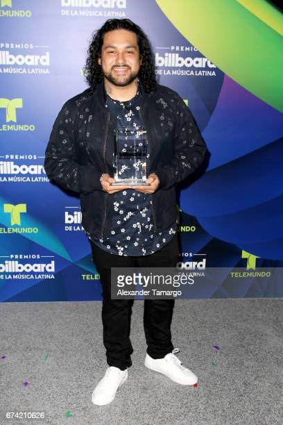 Deorro poses in the press room during the Billboard Latin Music Awards at Watsco Center on April 27 2017 in Coral Gables Florida