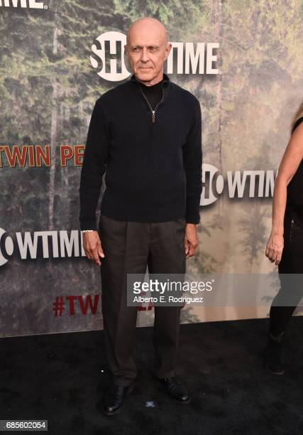 Dep Kirkland attends the premiere of Showtime's 'Twin Peaks' at The Theatre at Ace Hotel on May 19 2017 in Los Angeles California