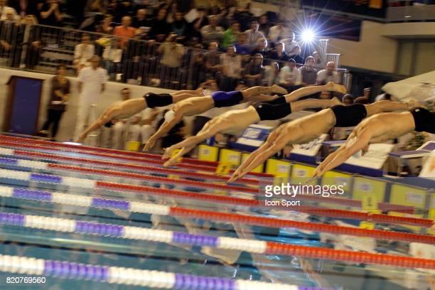 Depart 100m Championnats de France de Natation en Petit Bassin 2010 Chartres