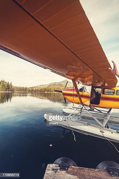 Departing Float Plane