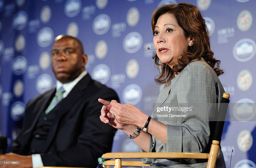 S Department of Labor Secretary Hilda Solis speaks during a Urban Economic Forum cohosted by White House Business Council and US Small Business...