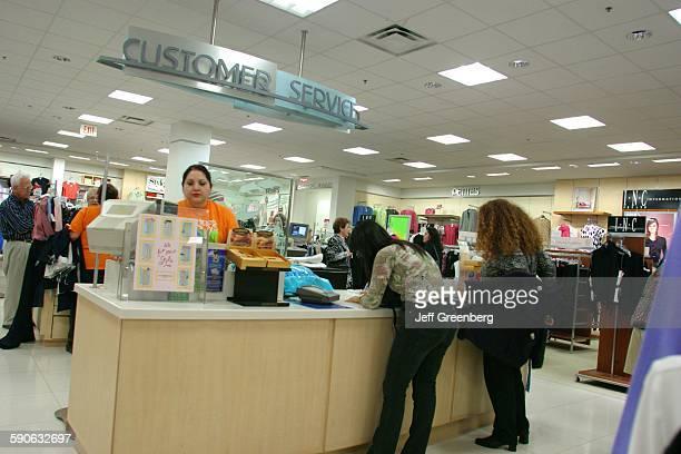 Department Store Customer Service Desk