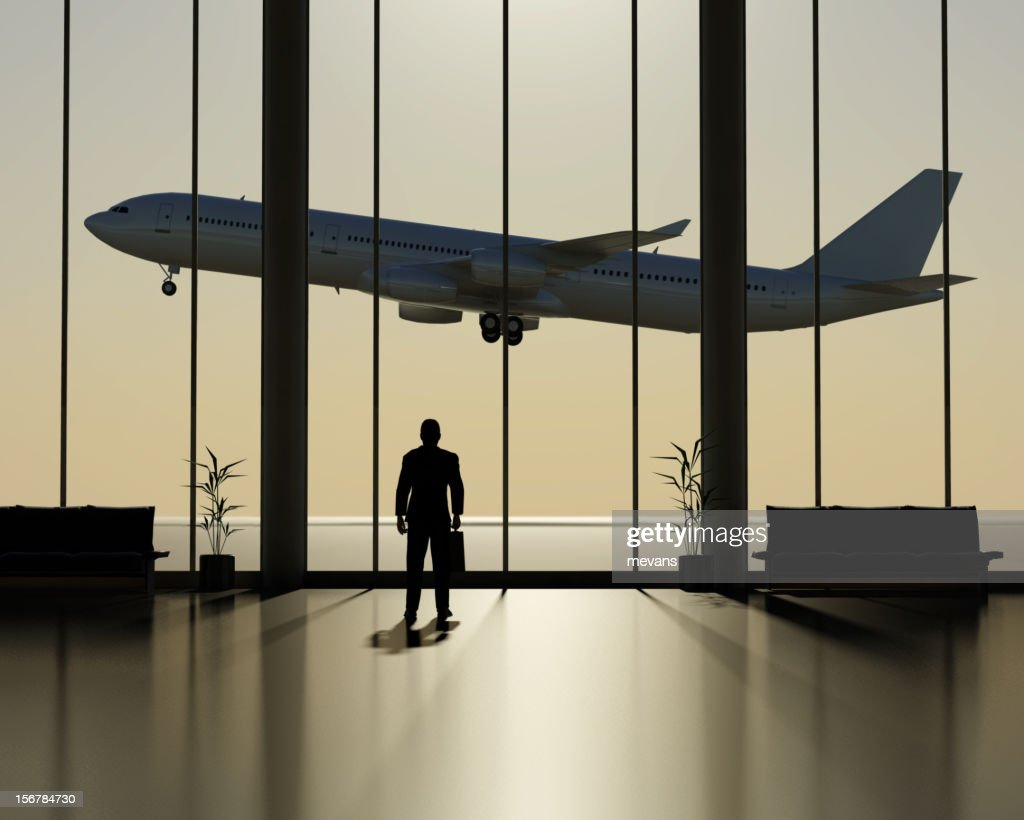 Departure Lounge : Stock Photo