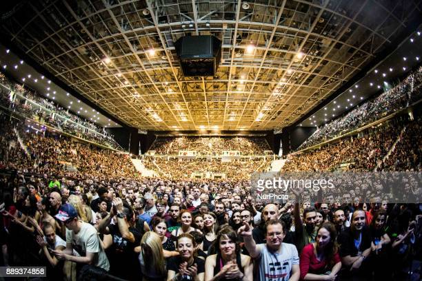 Depeche Mode crowd yesterday at Pala Alpitour Italy